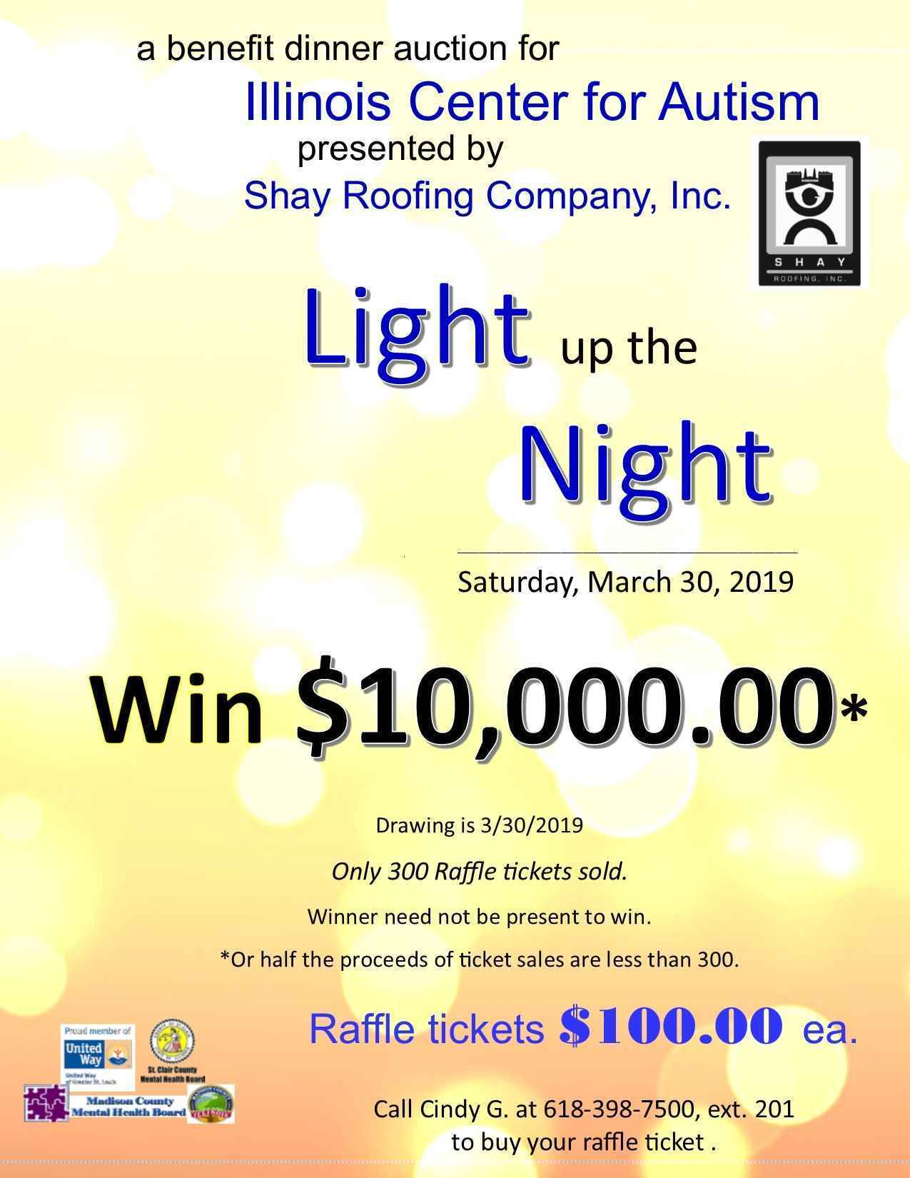 Illinois Center for Autism's Light up the Night Spring Dinner Auction image