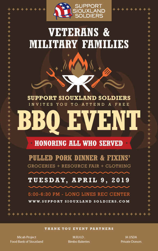 Support Siouxland Soldiers BBQ Event image
