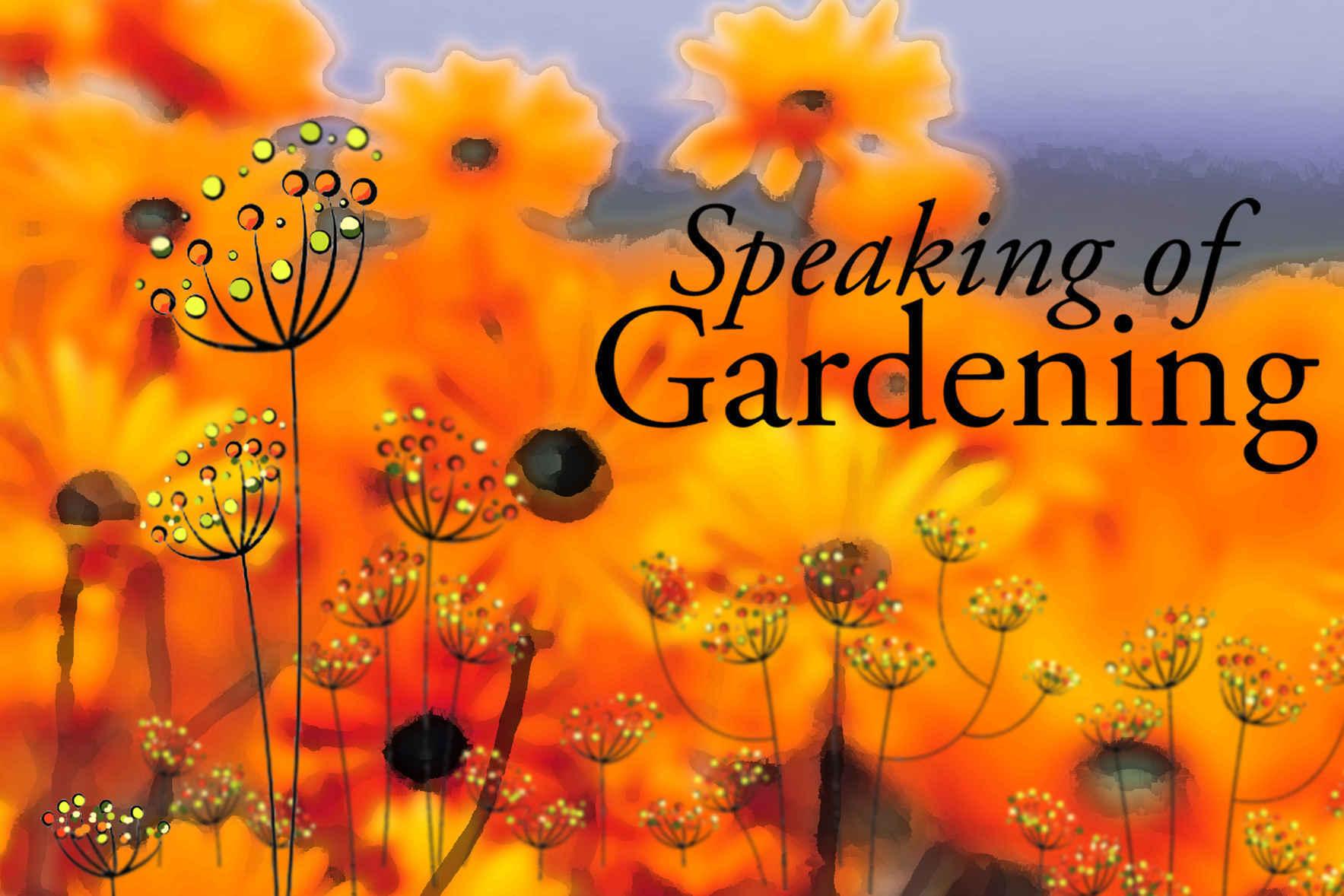 Speaking of Gardening 2019 image