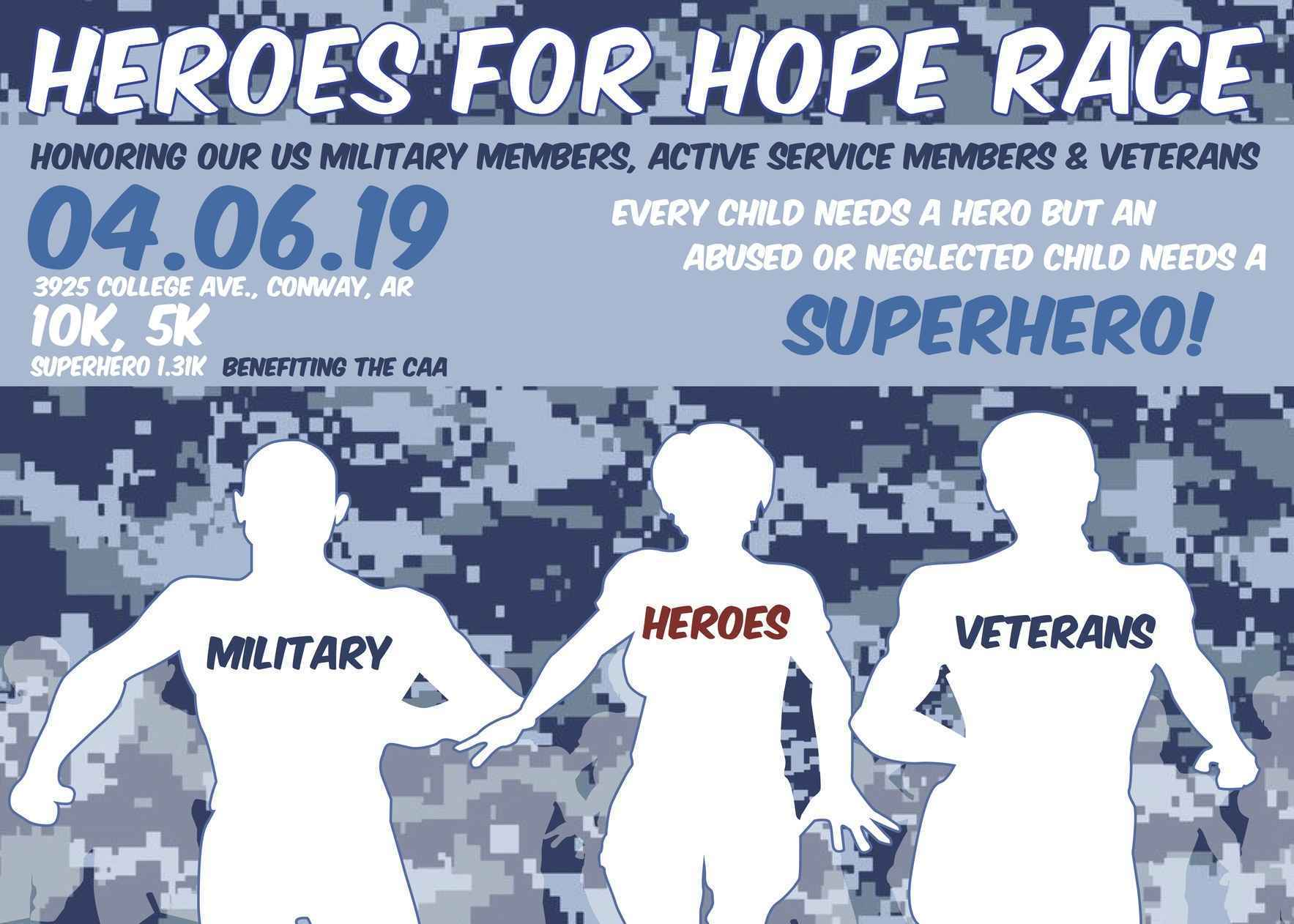 Hereos for Hope Race 2019  image