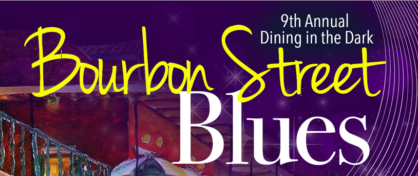Dining in the Dark: BOURBON STREET BLUES image