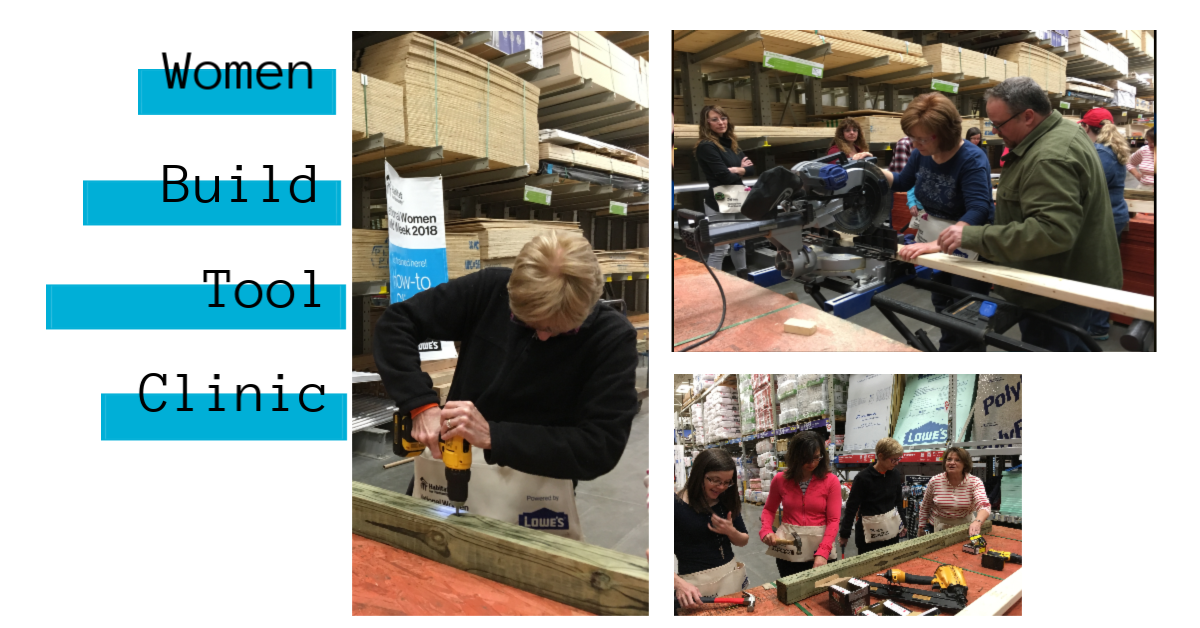 Women Build 2019 Tool Clinic April 25th image