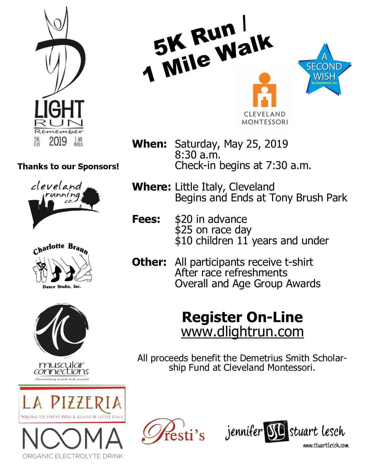 D'Light 5K Run / 1 Mile Walk image