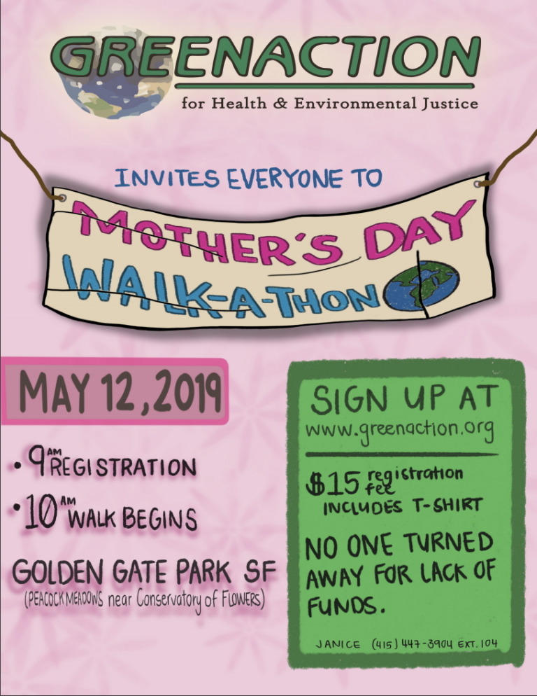 Greenaction Mother's Day Walk-a-Thon image