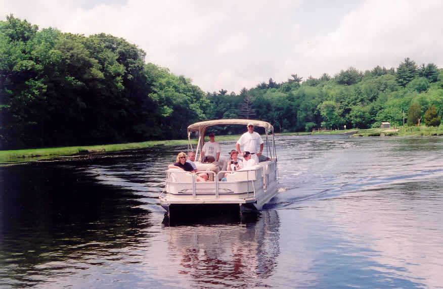 Realtor Gift - Exclusive Chartered Boat Tour of the North River for six people plus an NSRWA Family membership packet image