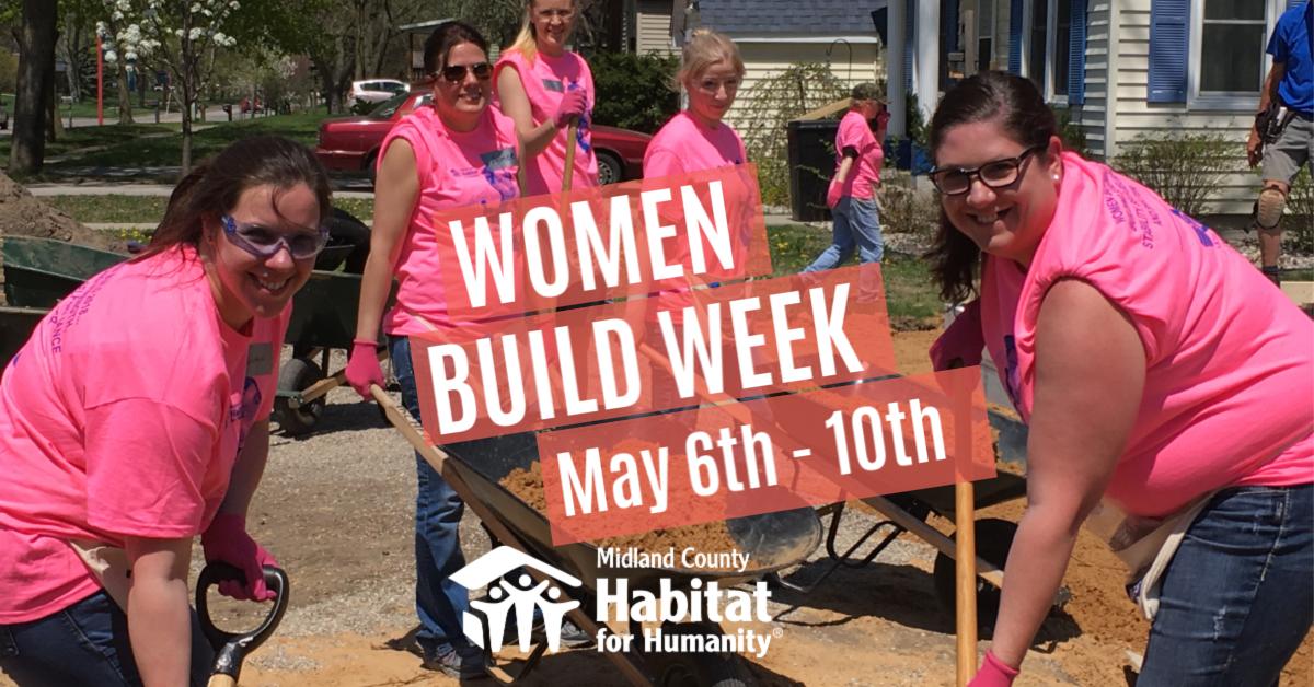 Women Build - Midland County Habitat for Humanity image