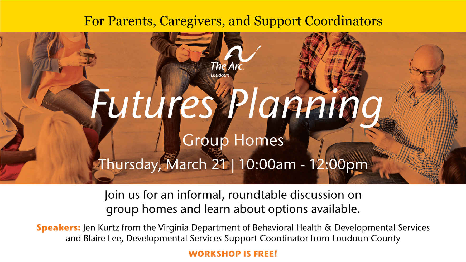 Futures Planning on March 21: Group Homes image