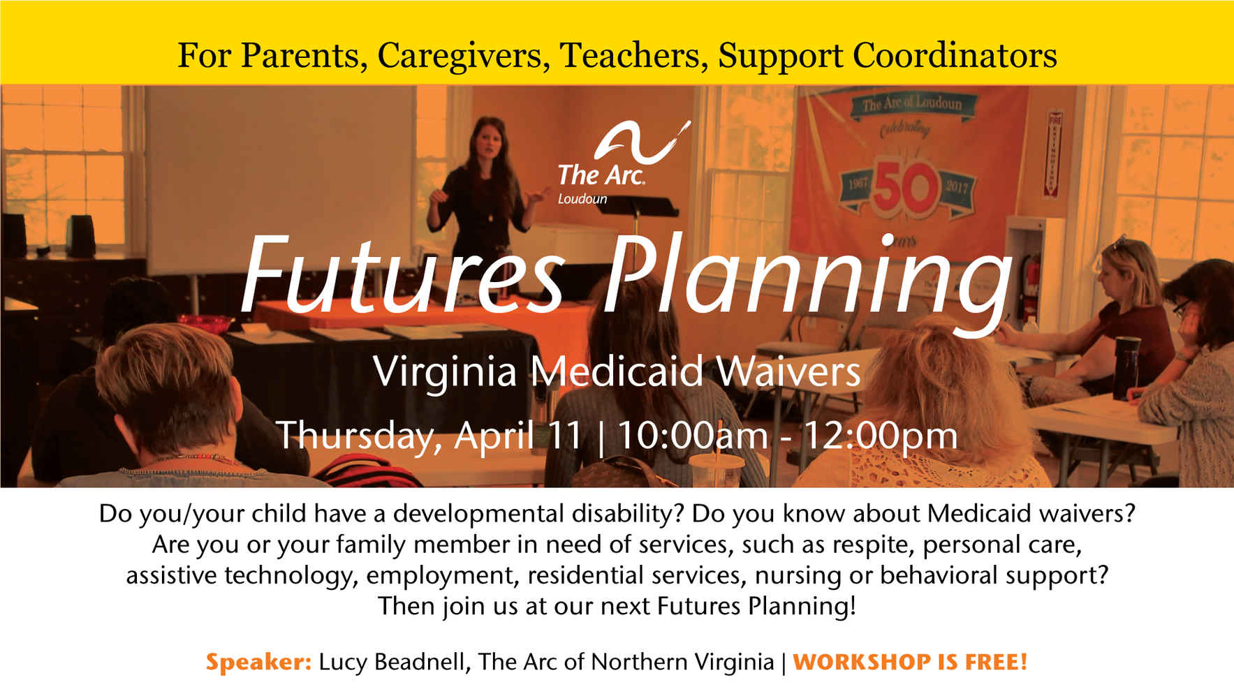 Futures Planning on April 11: Virginia Medicaid Waivers image