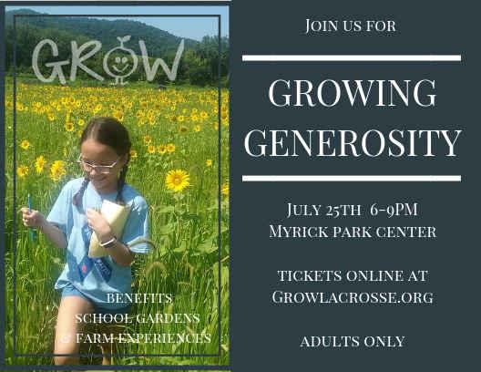Growing Generosity 2019 image