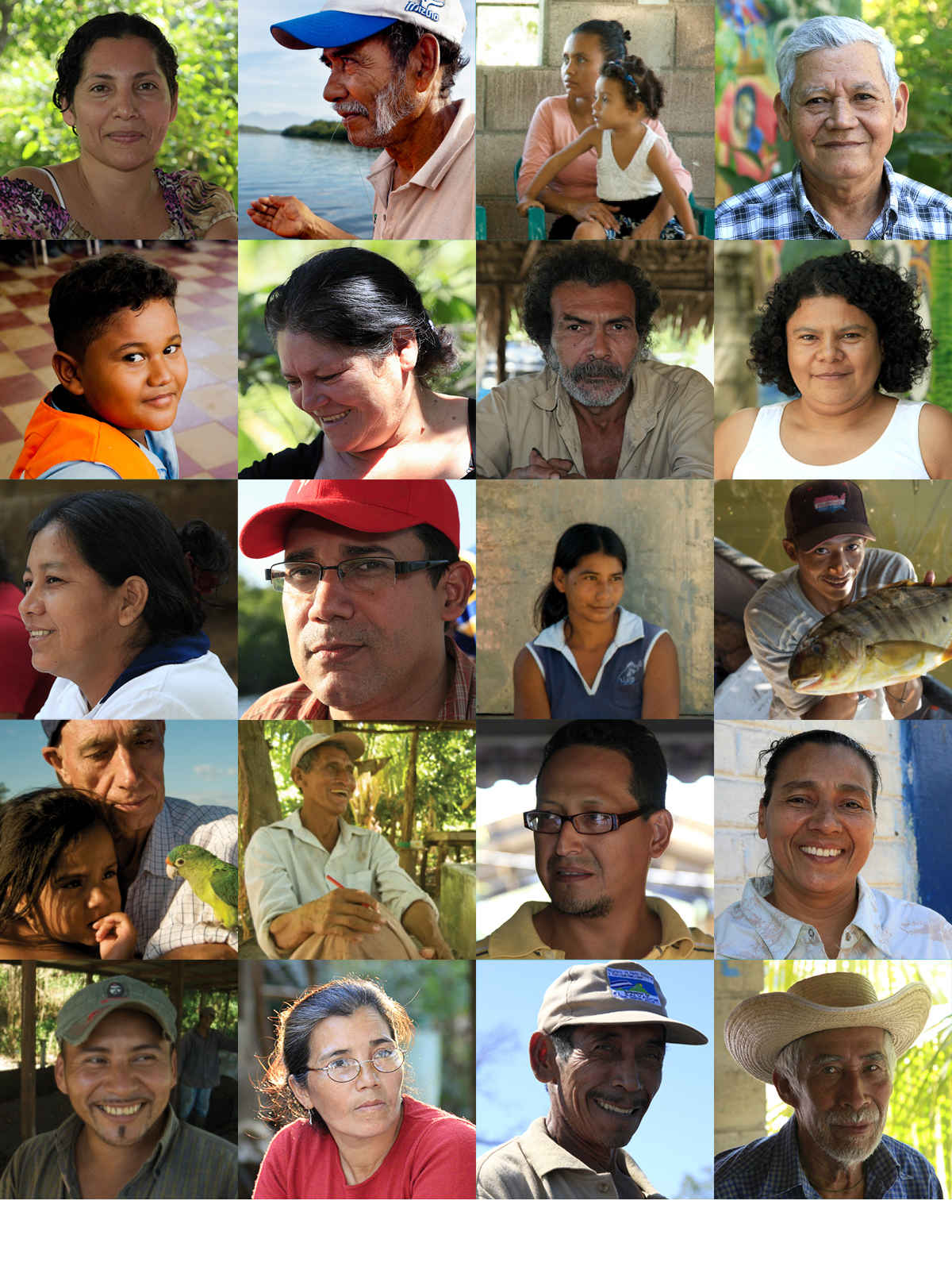 Rostros: Faces of Central America image