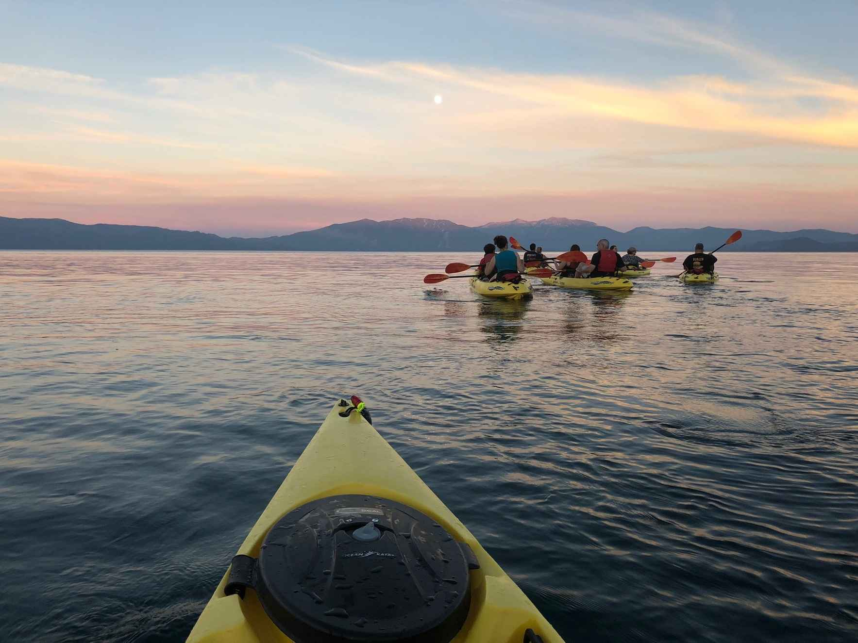 Full Moon Kayak Tour - August image