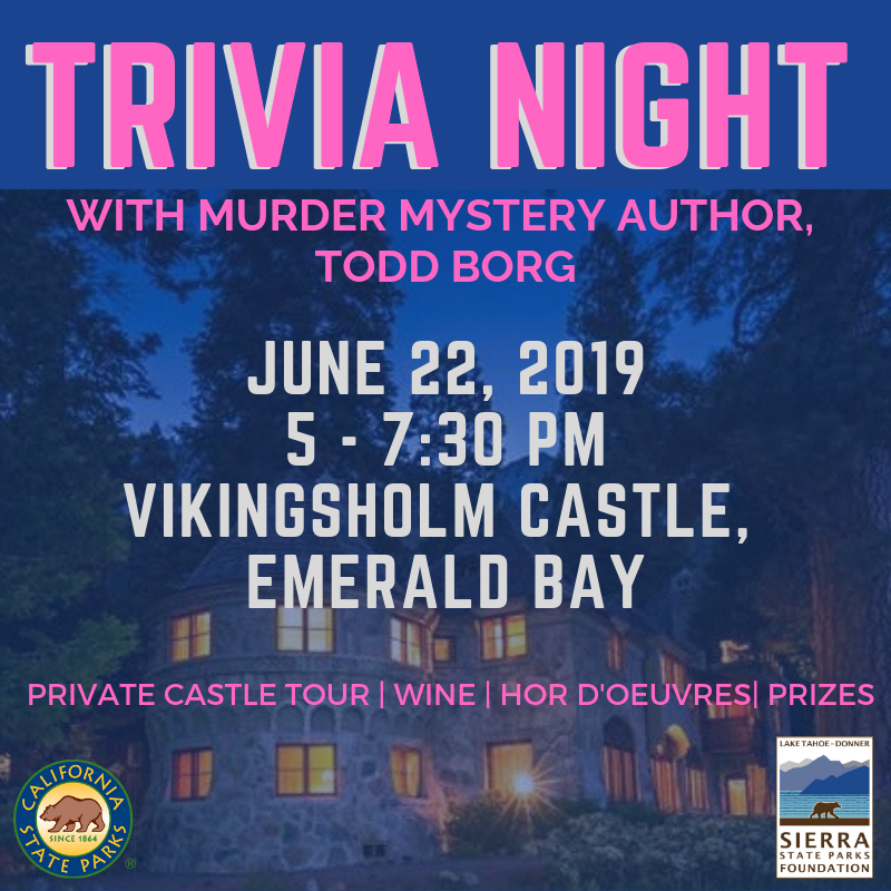 Trivia Night at the Castle, with Murder Mystery Author Todd Borg image