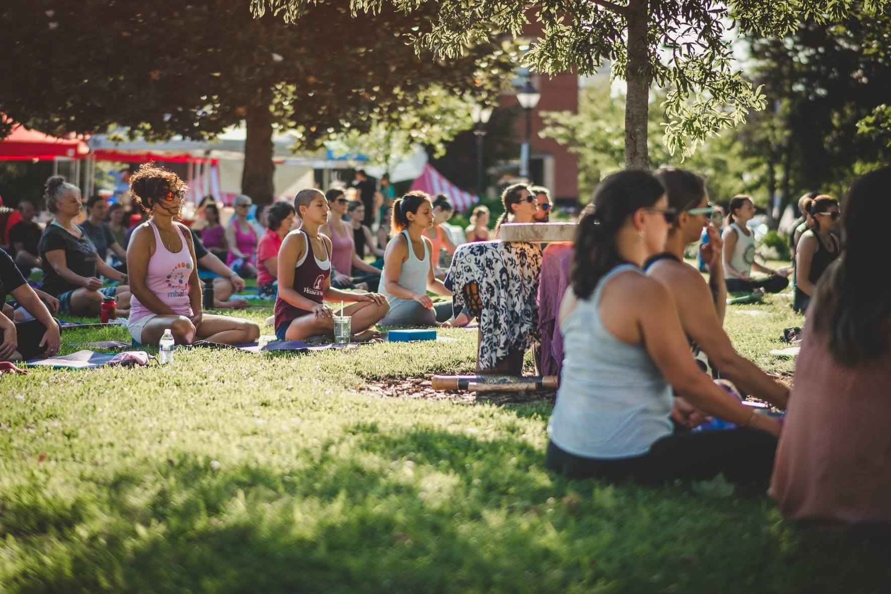 2019 Yoga in the Park image