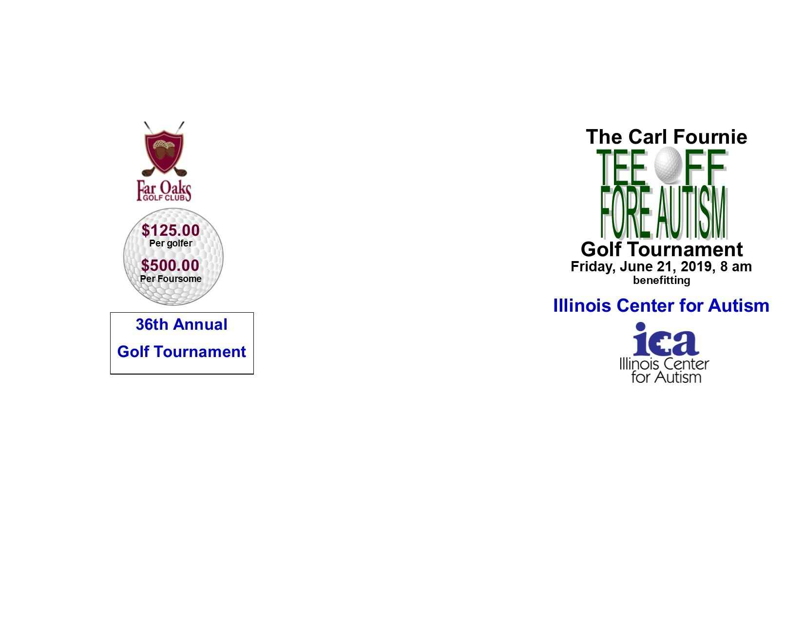 Golf Reg The Carl Fournie Tee Off Fore Autism Golf Tournament image