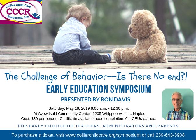 Early Childhood Education Symposium with Ron Davis image
