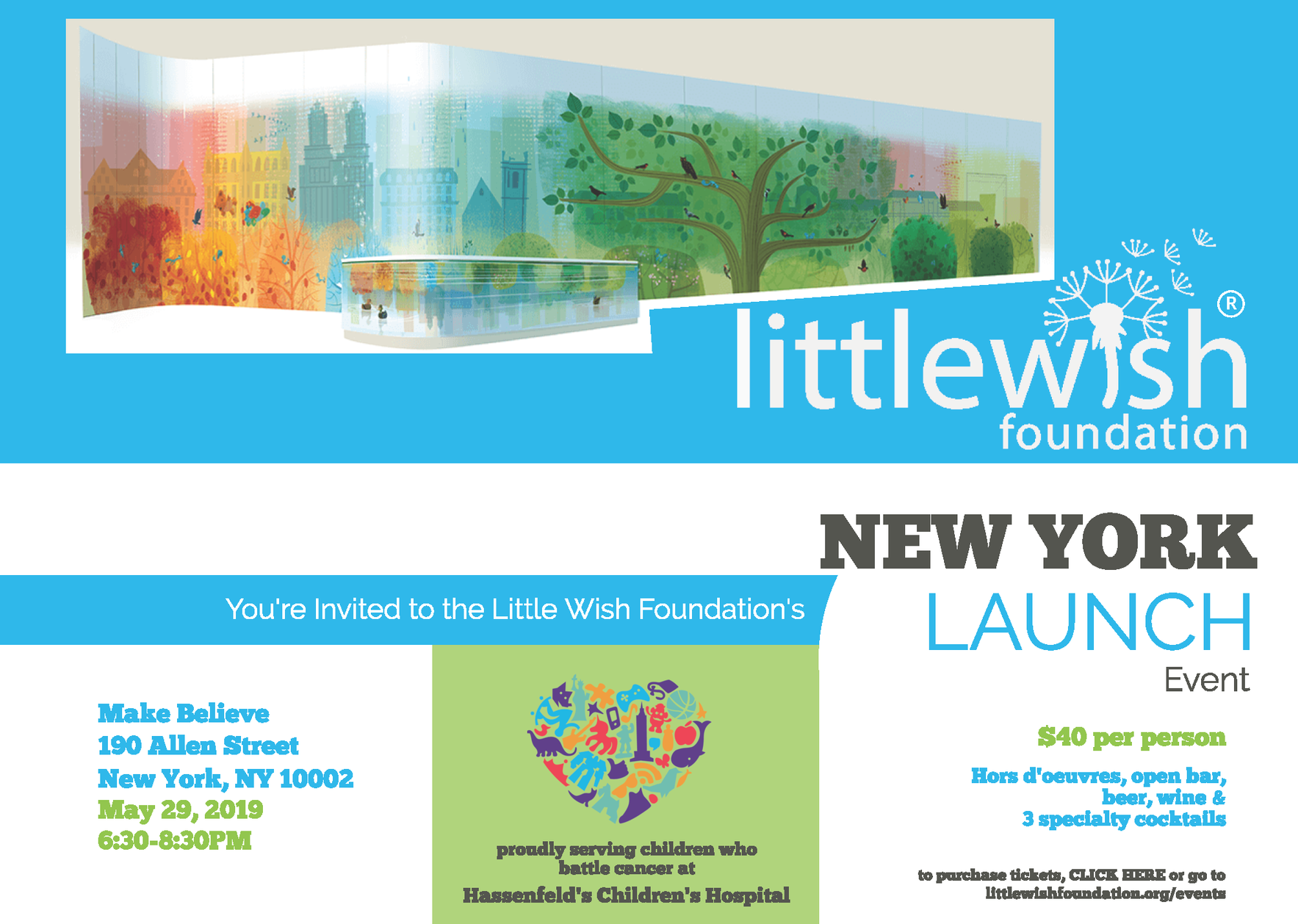 Little Wish Foundation New York Launch Event image