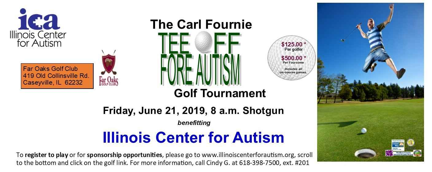 The 2019 Carl Fournie Tee Off Fore Autism Golf Tournament Sponsorship Opportunity image