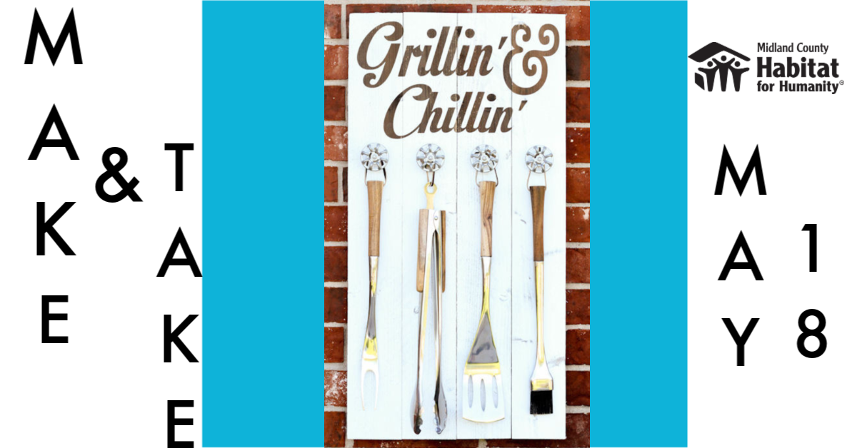 Make and Take - Grill Tool Holder image