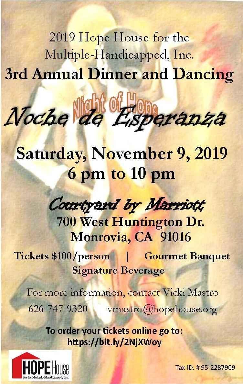 3rd Annual Dinner Noche de Esperanza (Night of Hope) image