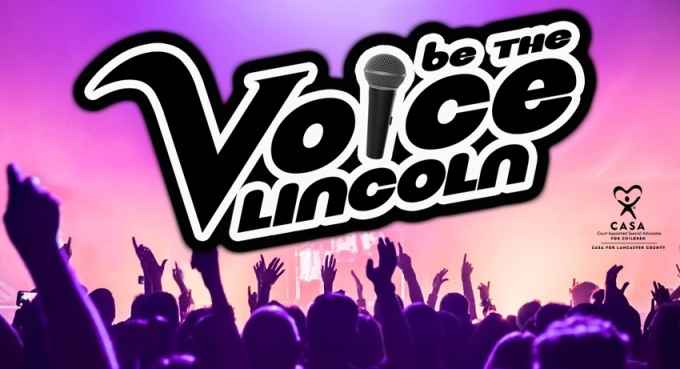 Be The Voice Lincoln - Lift Up Your Voice for CASA image