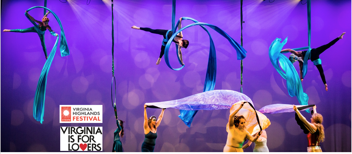 """Off The Canvas"" Aerial Silks Performance image"