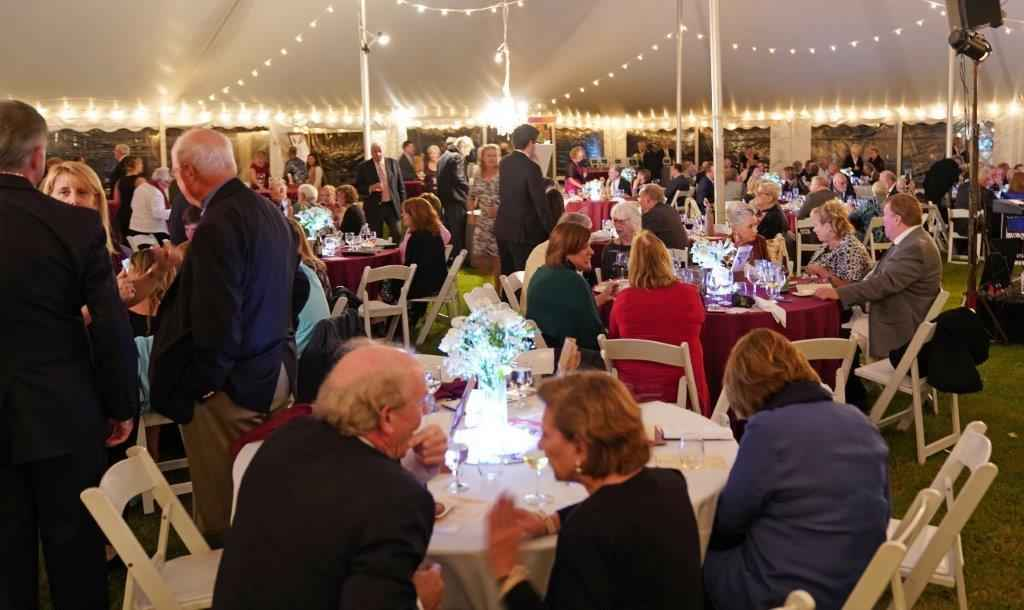 Saint Martin's Fall Gala Arts & Auction Dinner Living in Color Brightening Lives on the Eastern Shore image