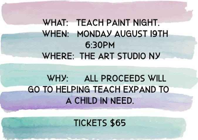 TEACH Paint Night! image