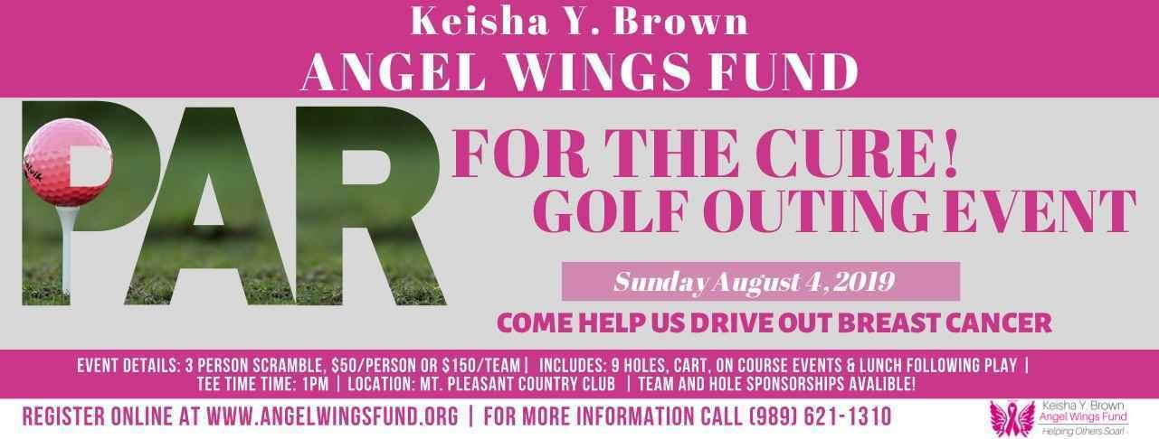 2019 Angel Wings Golf Outing: Par for The Cure! image