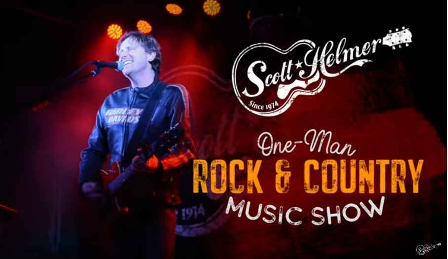 "BREATHE FREEDOM CONCERT FEATURING SCOTT HELMER'S ""ONE MAN ROCK & COUNTRY MUSIC SHOW"" image"