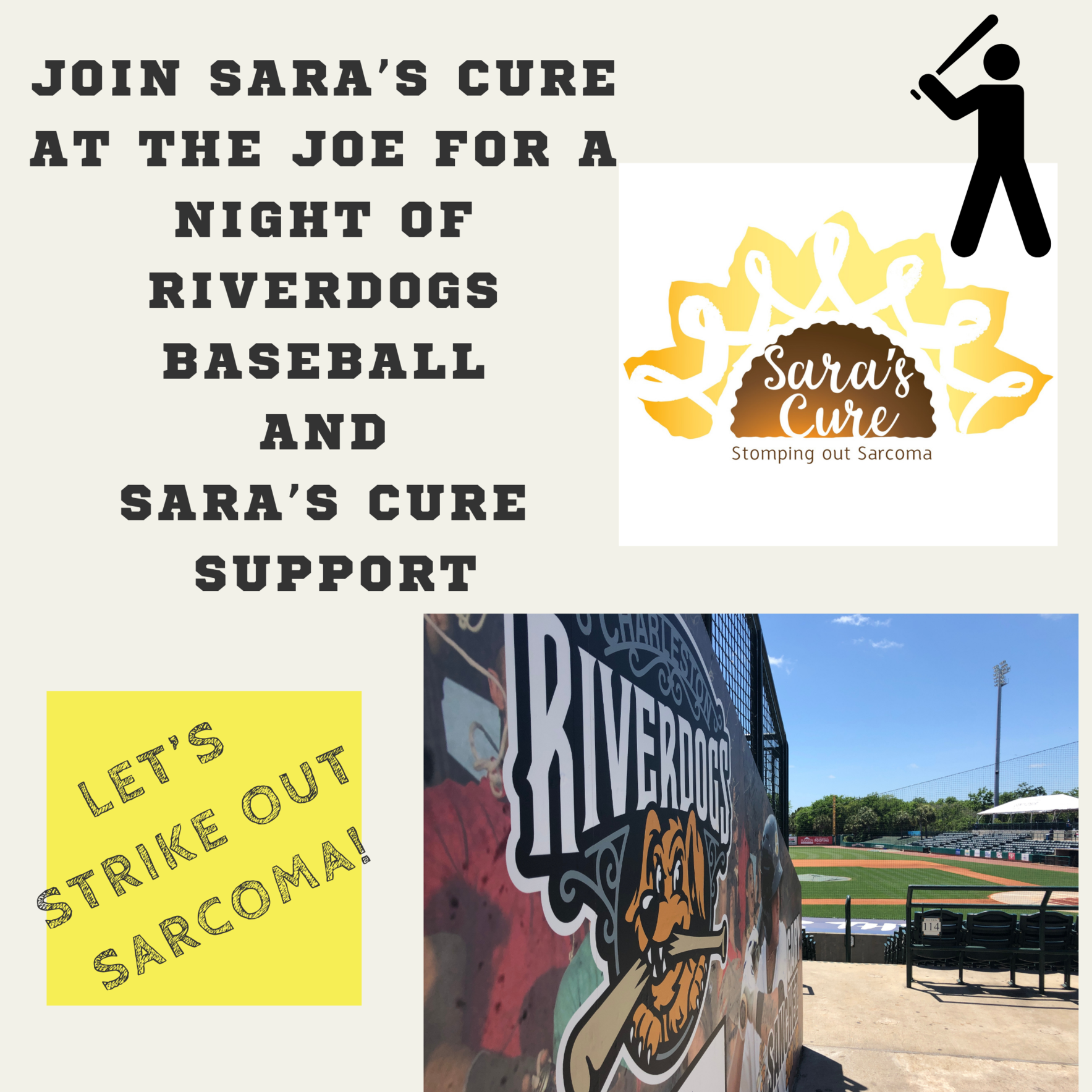 Sara's Cure Night at the RiverDogs image