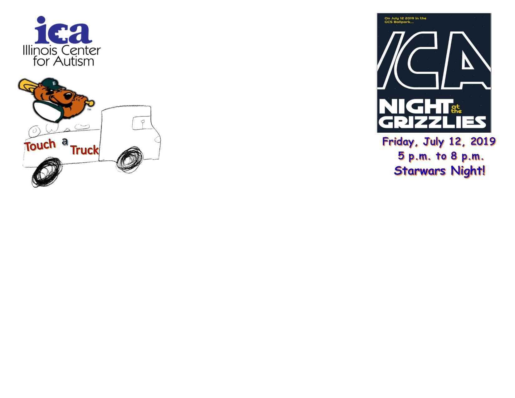 2019 Grizzlies/Touch a Truck Sponsor image