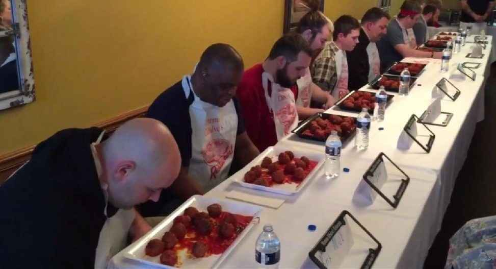Mamma DiSalvo's 3rd Annual Meatball Eating Contest image