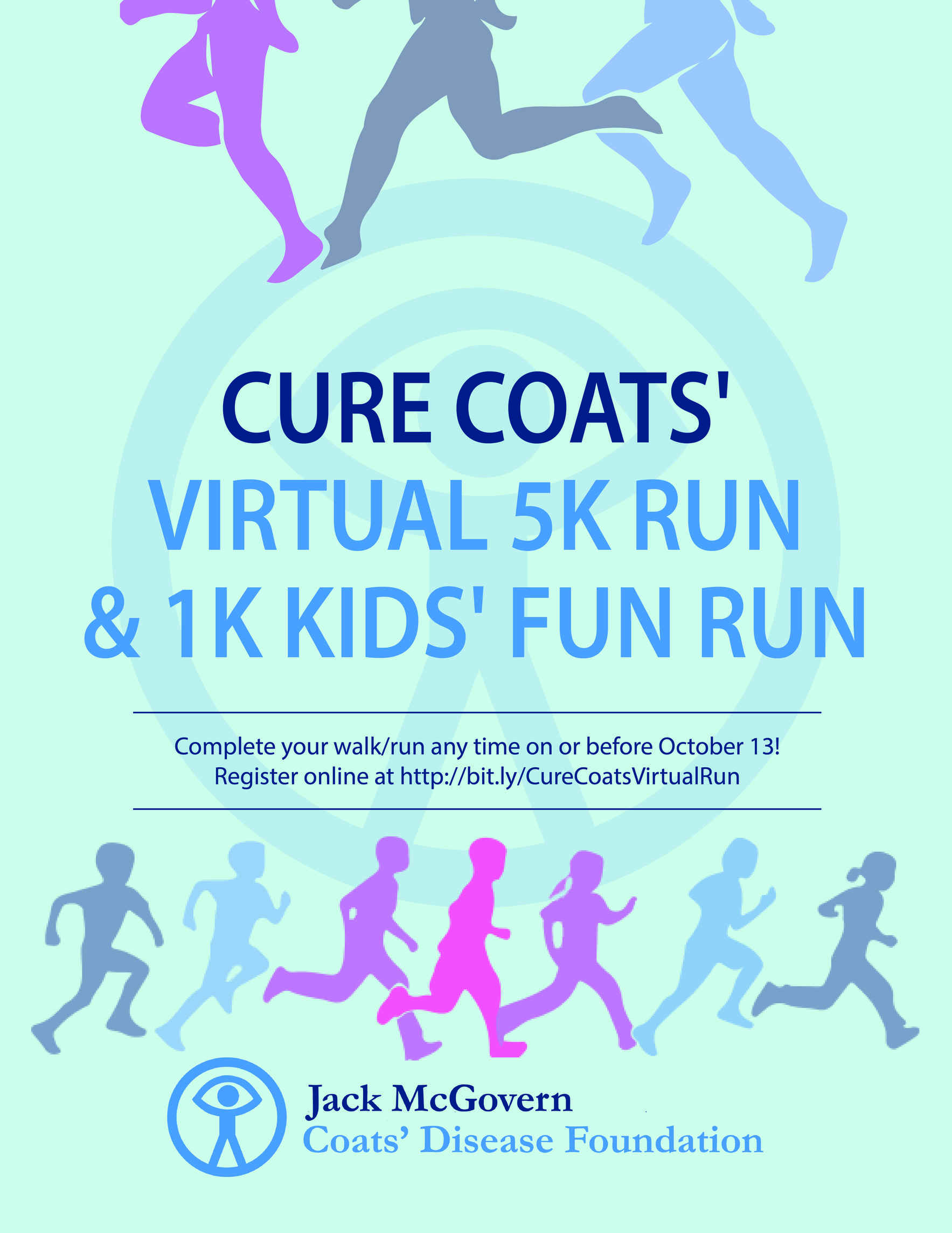 Cure Coats' Virtual 5K Run and 1K Kids' Fun Run image