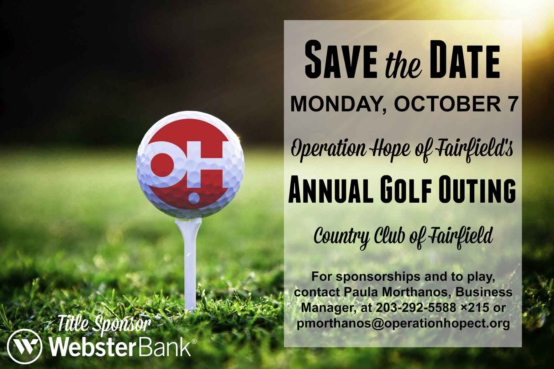 Operation Hope Annual Golf Outing image