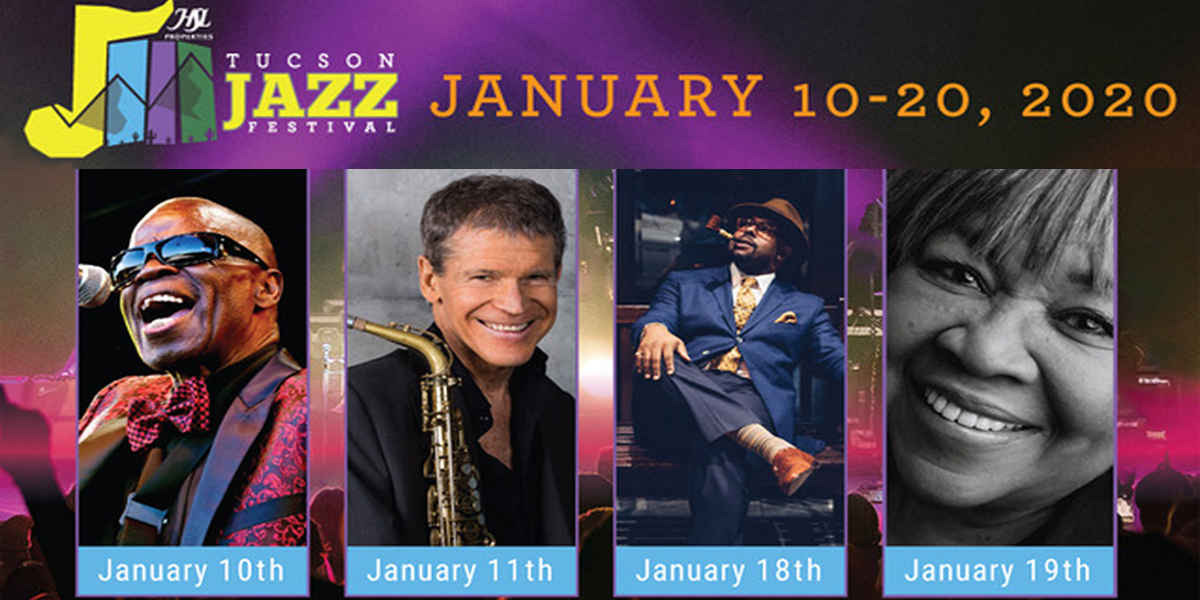 2020 Tucson Jazz Festival VIP Ticket Package image