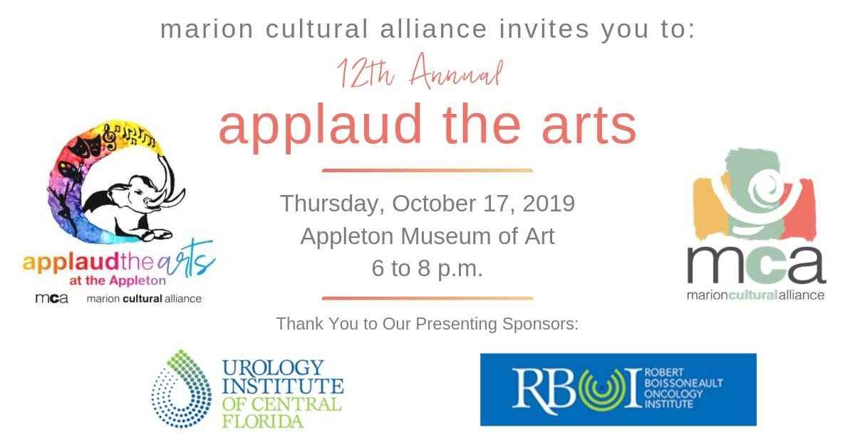 12th Annual Applaud the Arts image
