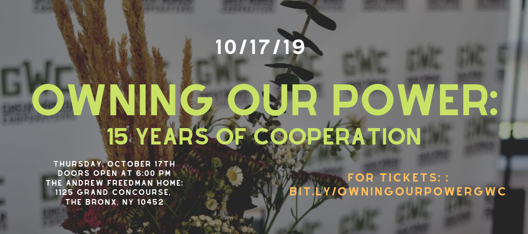 Owning Our Power: 15 Years of Cooperation image