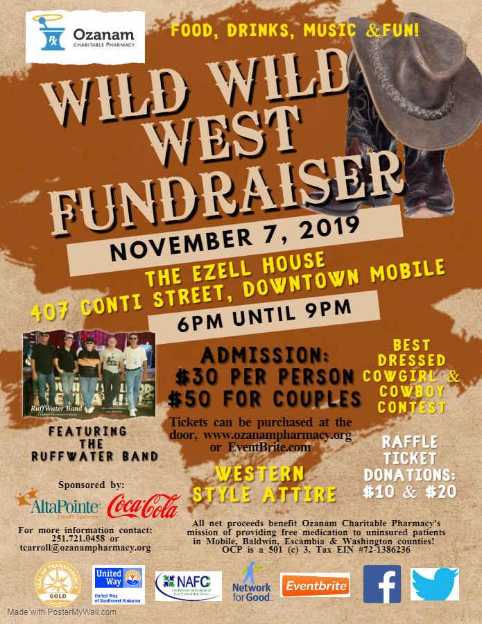 Wild Wild West Fundraiser benefiting Ozanam Charitable Pharmacy image