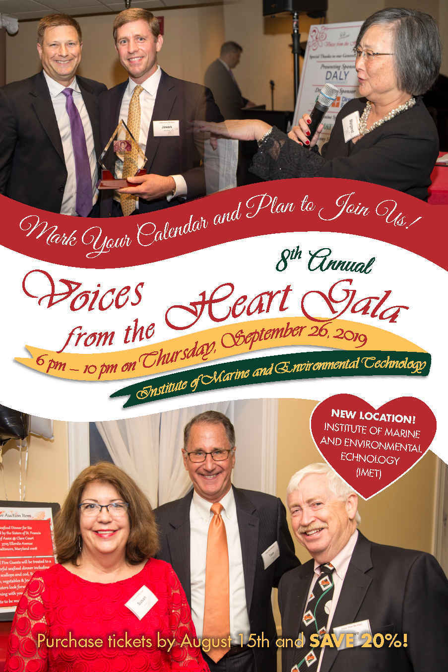 8th Annual Voices from the Heart Gala  image
