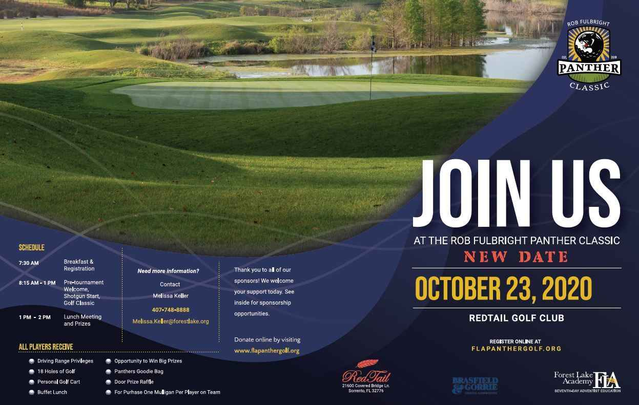 2020 Rob Fulbright Panther Golf Tournament image