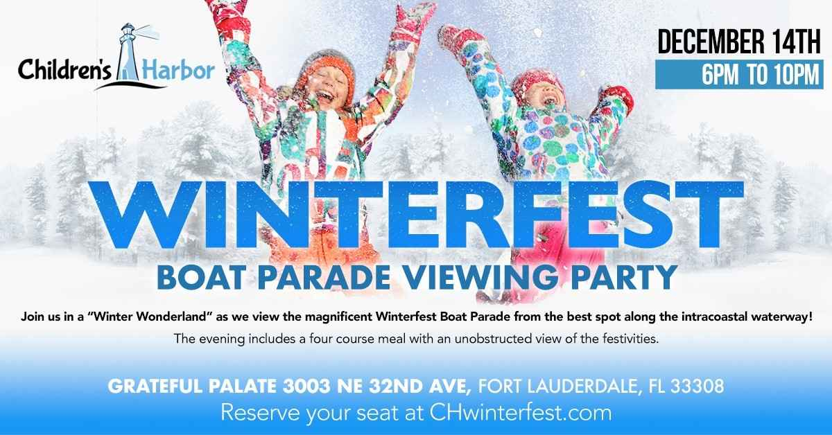 2019 Winterfest Boat Parade Viewing Party image