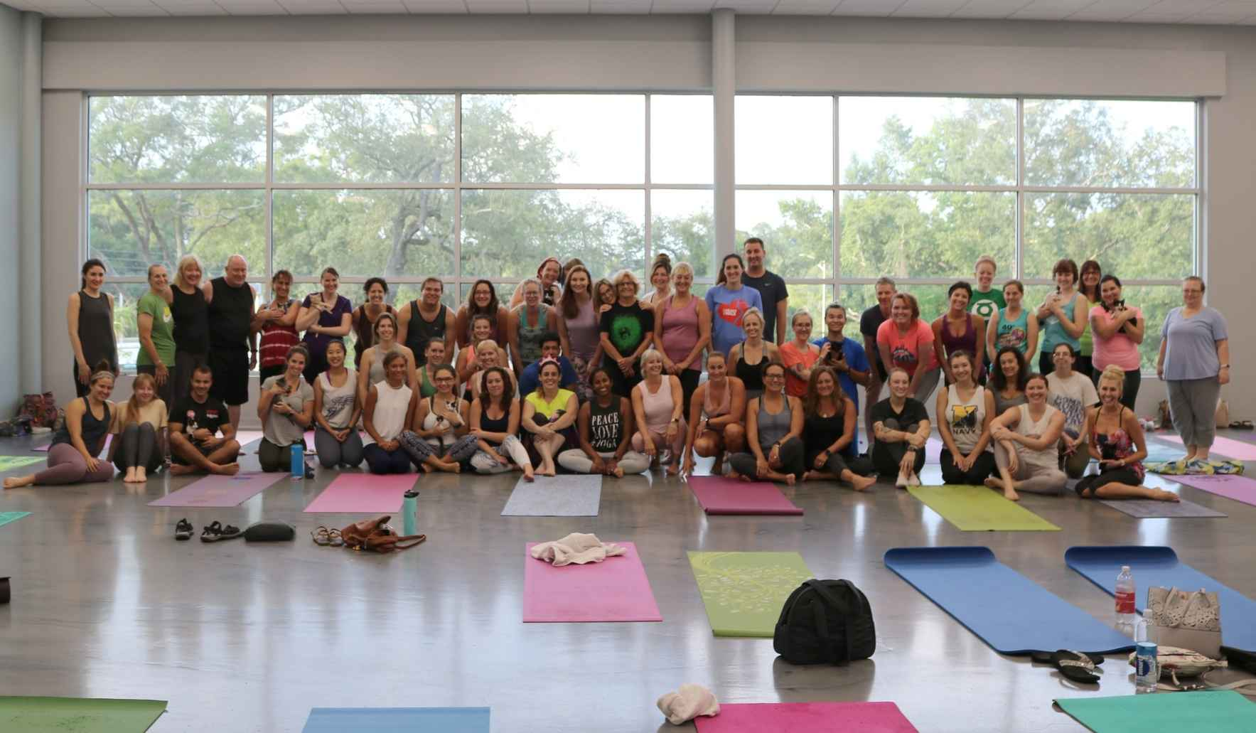 JACKSONVILLE HUMANE SOCIETY - Meowmaste- Yoga with Cats