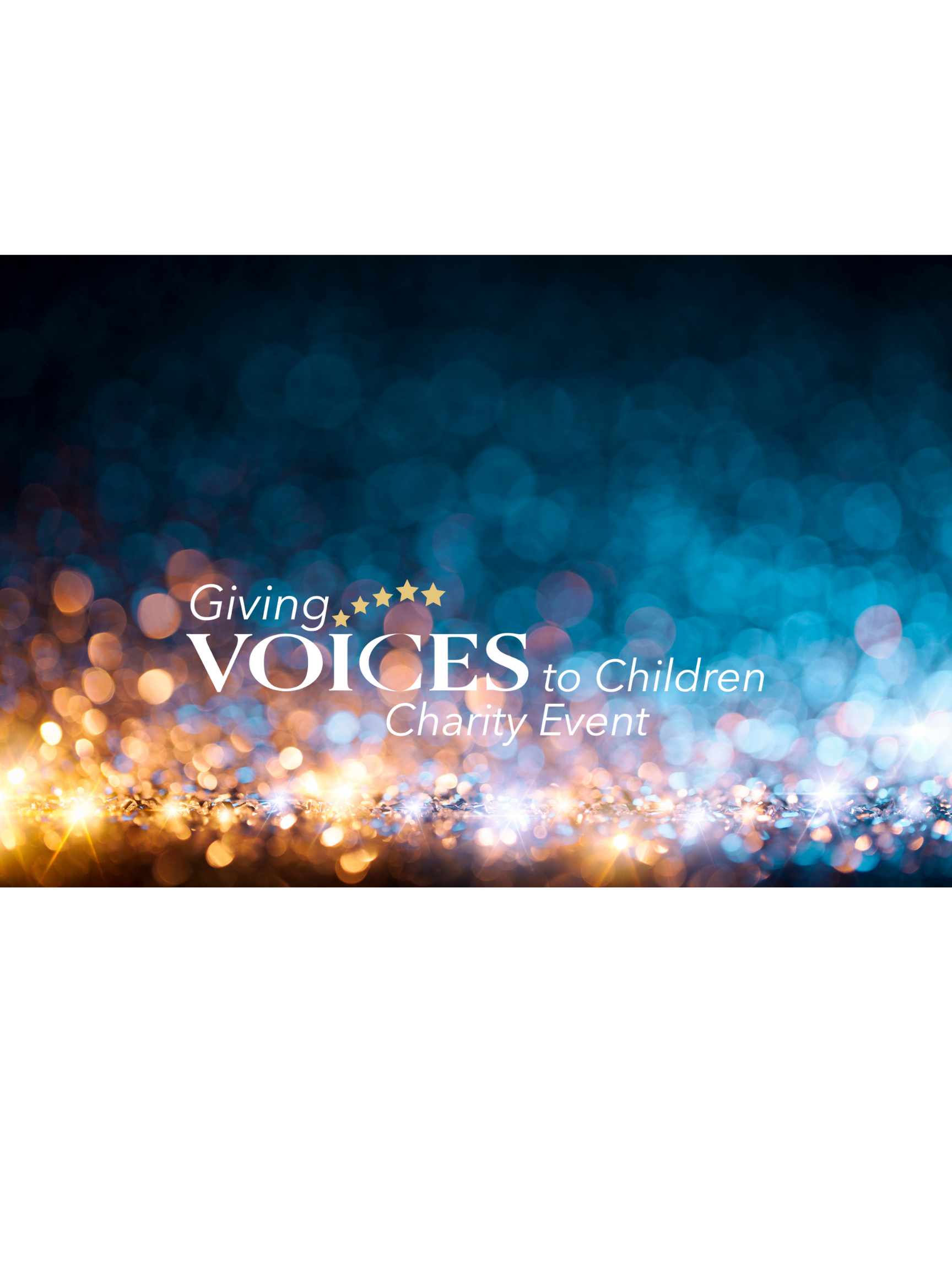 4050-E1 Giving Voices to Children Charity Event Sponsorships image