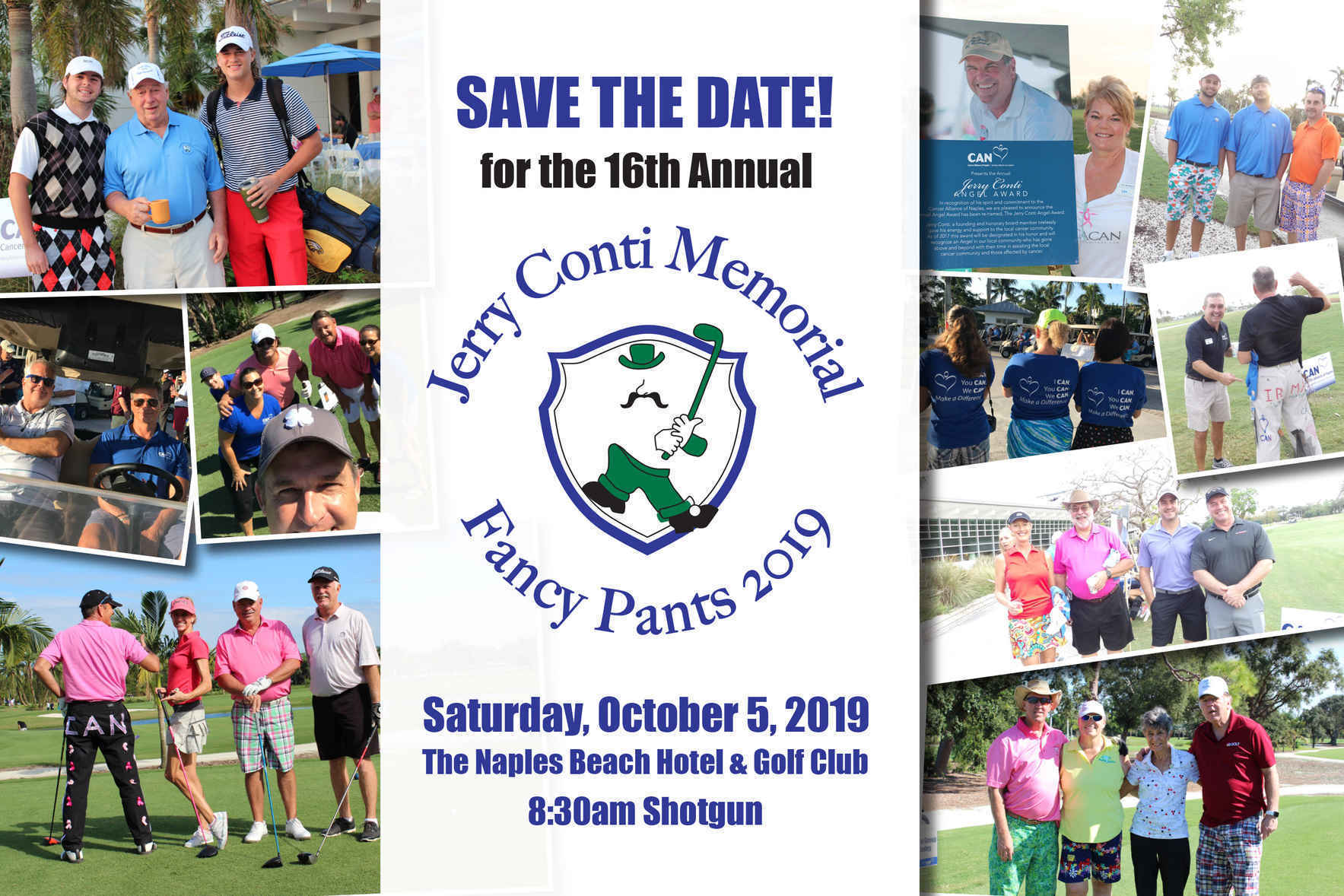 2019 Jerry Conti Memorial Fancy Pants Golf Tournament image
