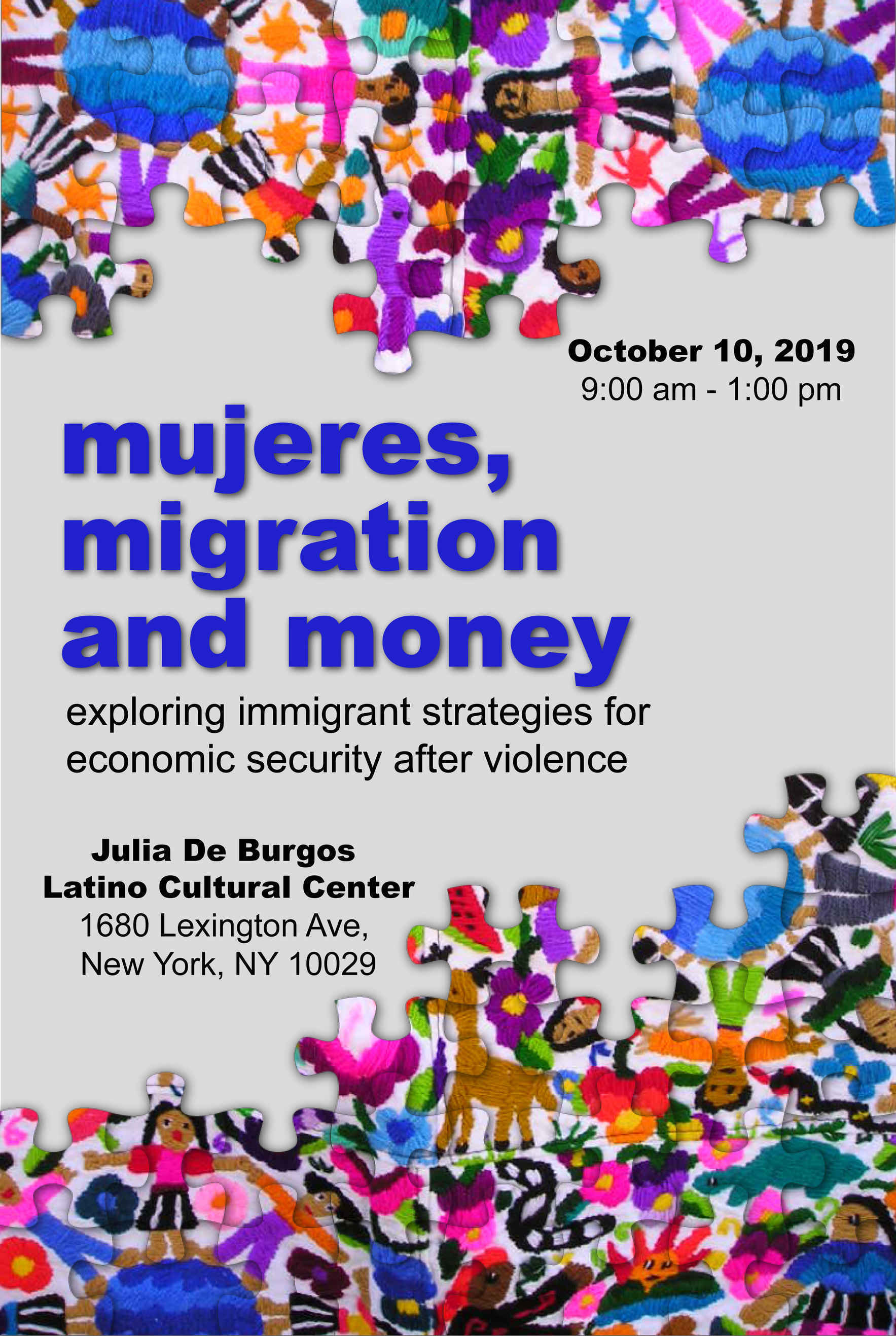 Mujeres, Migration and Money image