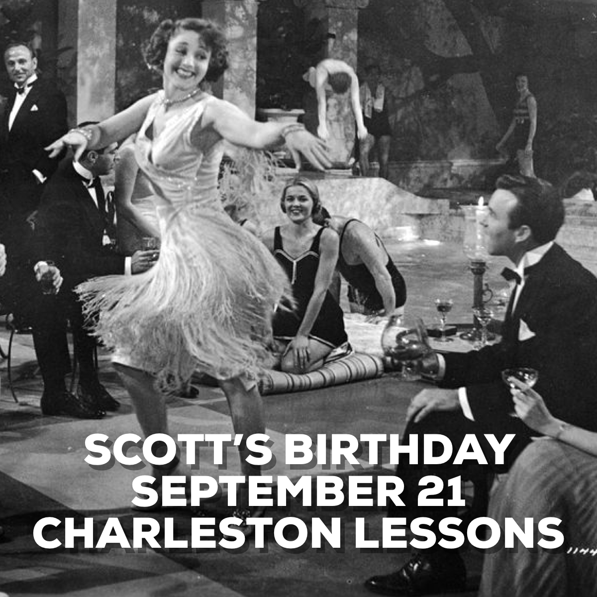 Scott's Birthday - Charleston Lessons image