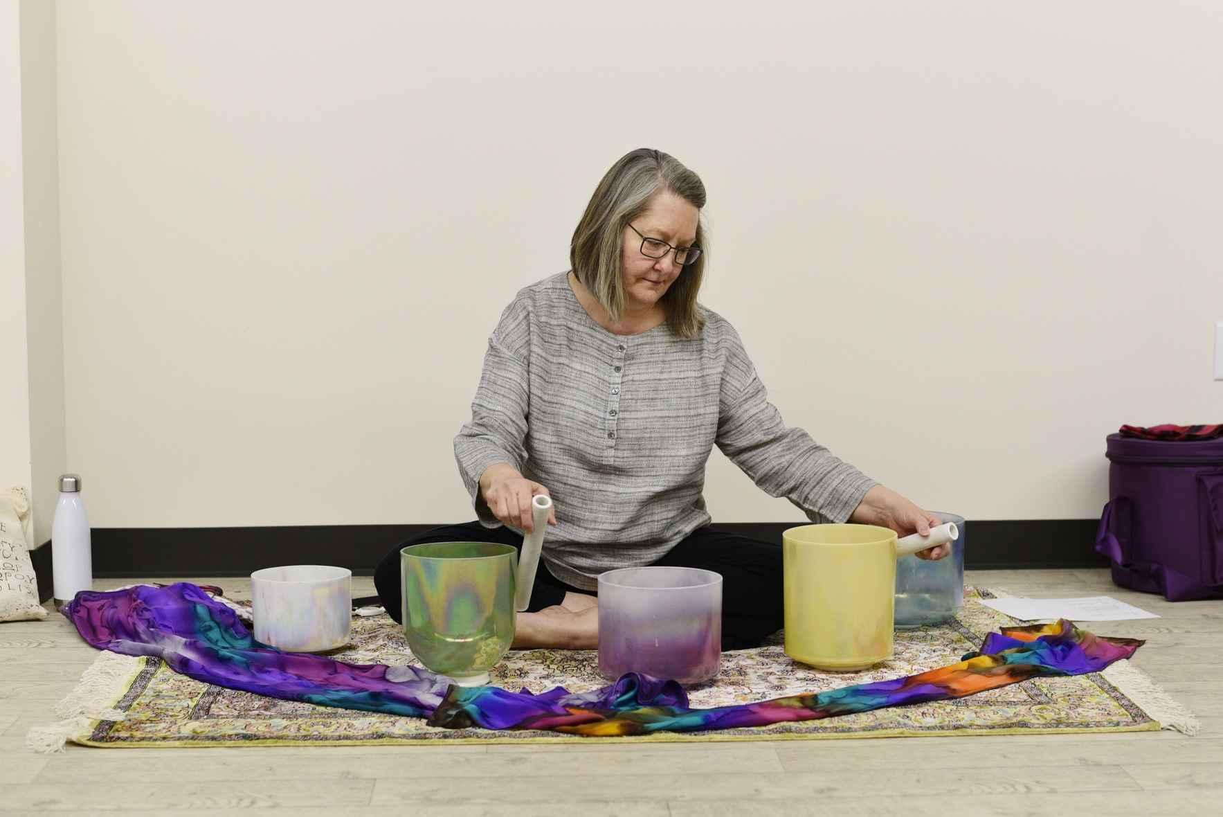 Yoga Nidra & Crystal Bowl Meditation Series image