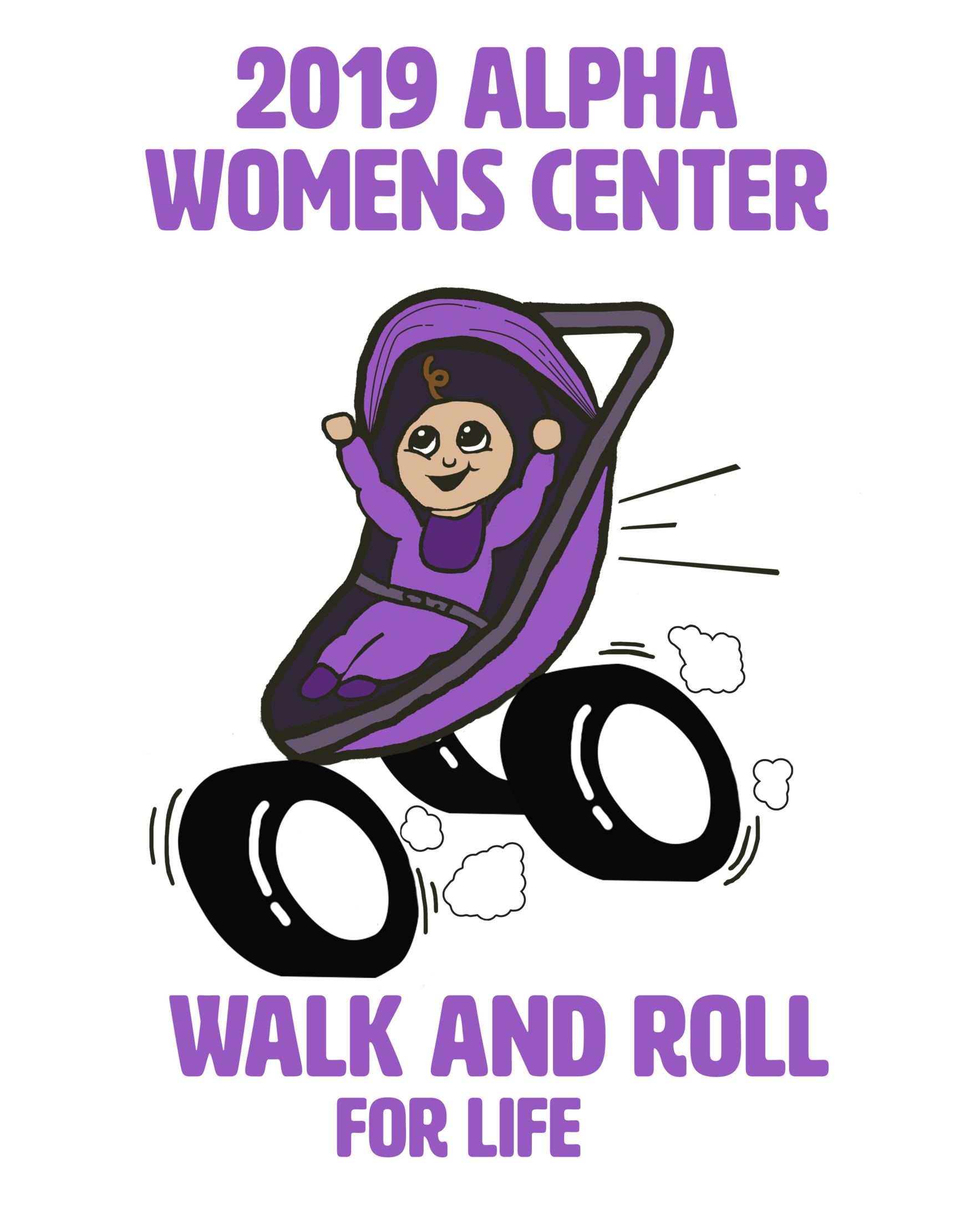2019 Walk and Roll for Life image