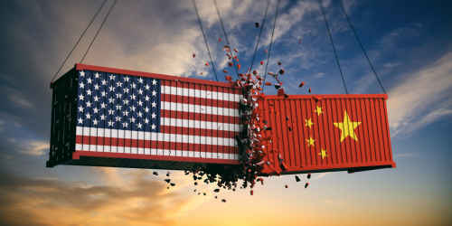 Global Tensions: The United States & China Battle for Economic Dominance  image
