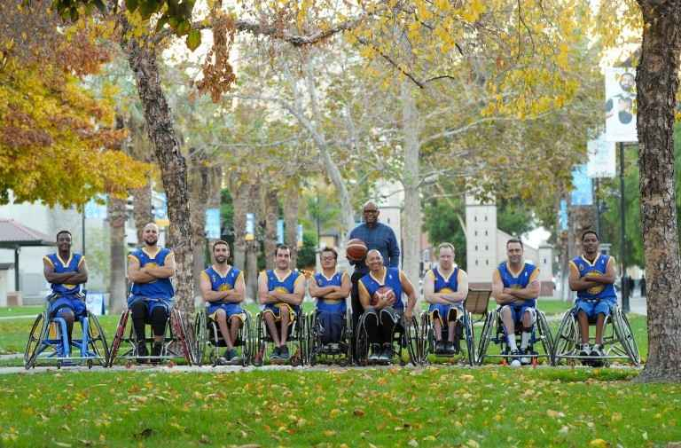 2nd Annual Golden State Road Warriors Wheelchair Basketball Game image